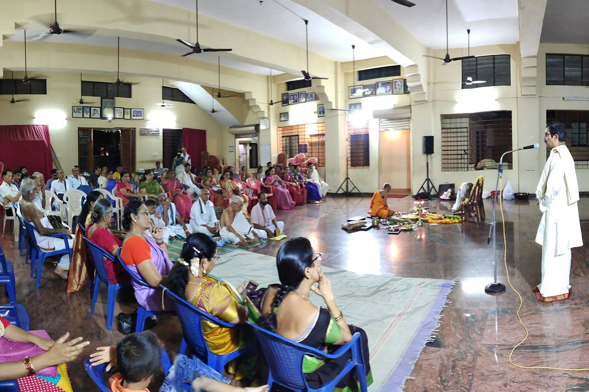 Activities at Shree Subrahmanya Sabha