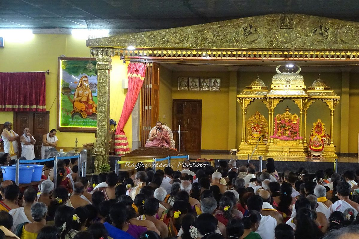 Shree Subrahmanya Sabha members visit to Sringeri