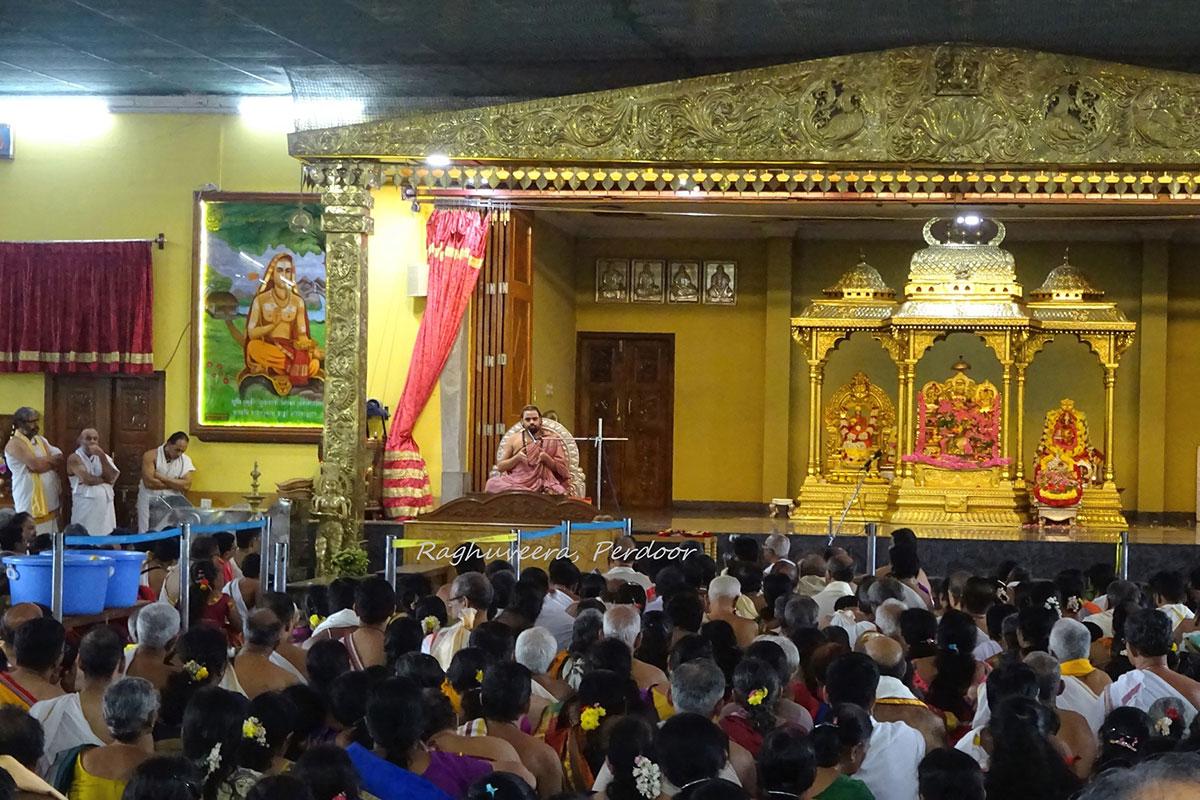 Shree Subrahmanya Sabha members visit to Sringeri